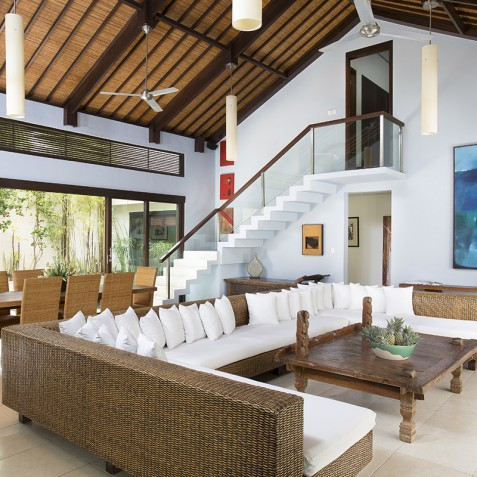 Villa Jemma - Living and Dining Area - Seminyak, Bali
