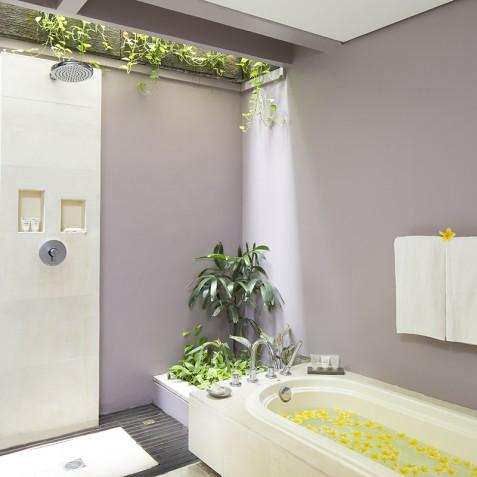 Villa Jemma - Open Air Bathroom - Seminyak, Bali