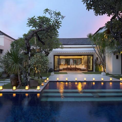 Villa Jemma - Villa at Night - Seminyak, Bali