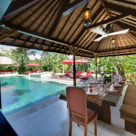 Villa Kalimaya I - Dining Pavilion - Seminyak, Bali