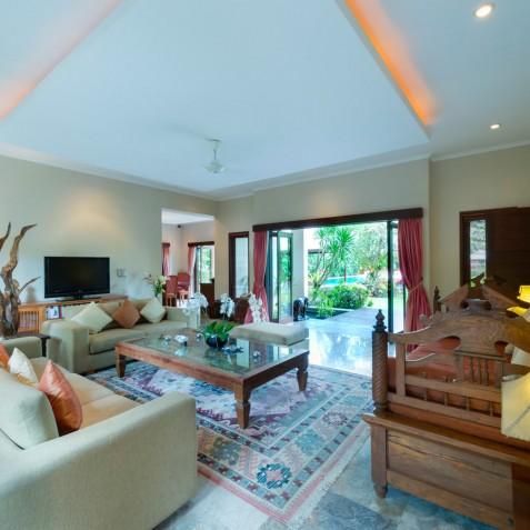 Villa Kalimaya I - Living Room - Seminyak, Bali