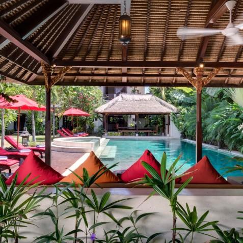 Villa Kalimaya I - Pool Lounge - Seminyak, Bali