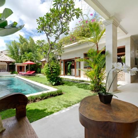 Villa Kalimaya II - Indoor View to Pool - Seminyak, Bali