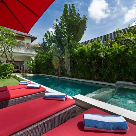 Villa Kalimaya II - Sun Loungers - Seminyak, Bali