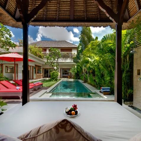 Villa Kalimaya II - View from Bale - Seminyak, Bali