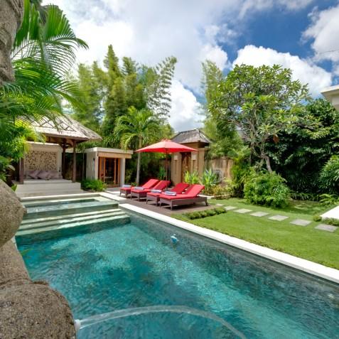 Villa Kalimaya II - Water Feature - Seminyak, Bali