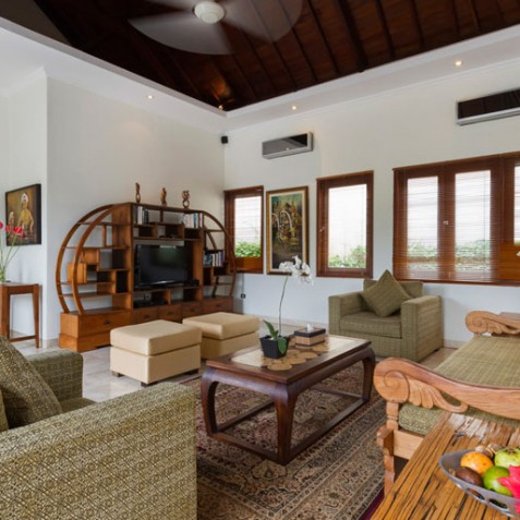 Villa Kalimaya III - Living Room Interior - Seminyak, Bali