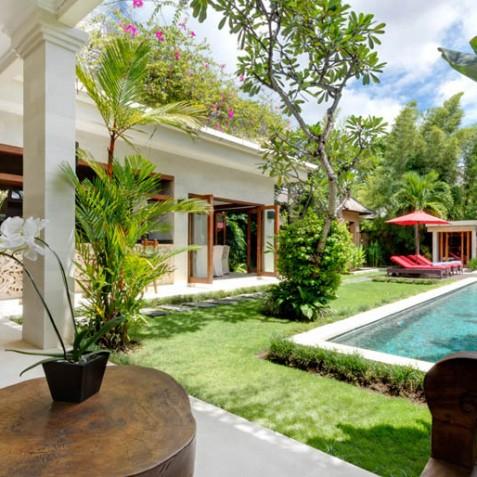 Villa Kalimaya III - View to Pool - Seminyak, Bali