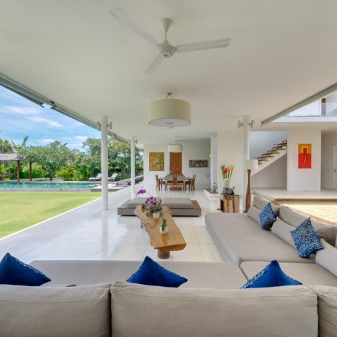 Villa Kavya Bali - Open Air Living Area - Canggu, Bali