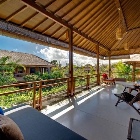 Villa Kinara - Balcony above Living Room - Seminyak, Bali