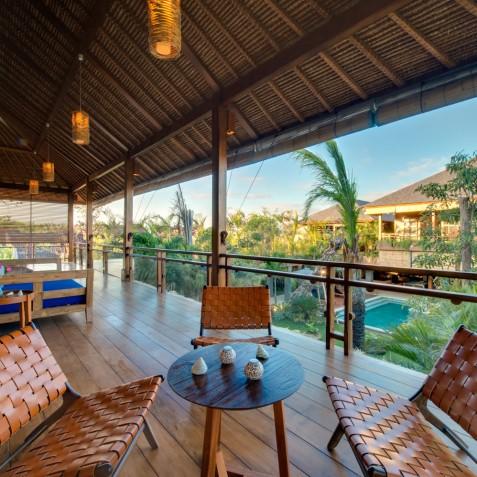 Villa Kinara, Seminyak, Bali - Master Bedroom Balcony