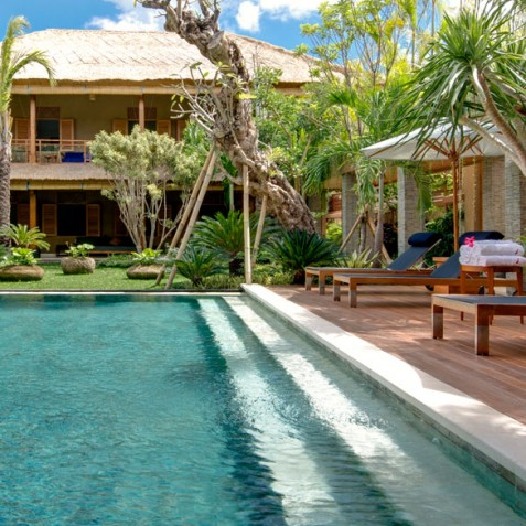 Villa Kinara - Pool Deck - Seminyak, Bali