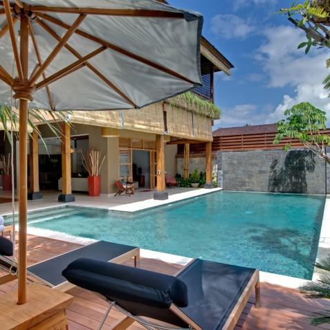 Villa Kinara - Pool and Decking - Seminyak, Bali