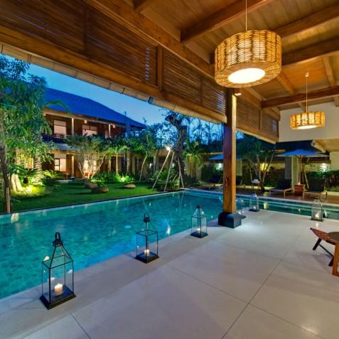 Villa Kinara - Terrace Outside Living Room - Seminyak, Bali