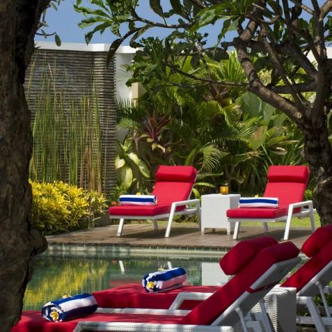 Villa LeGa Bali - Poolside Afternoon - Seminyak, Bali
