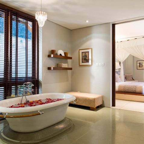 Villa Lilibel Bali - Guest Bedroom One Ensuite - Seminyak, Bali