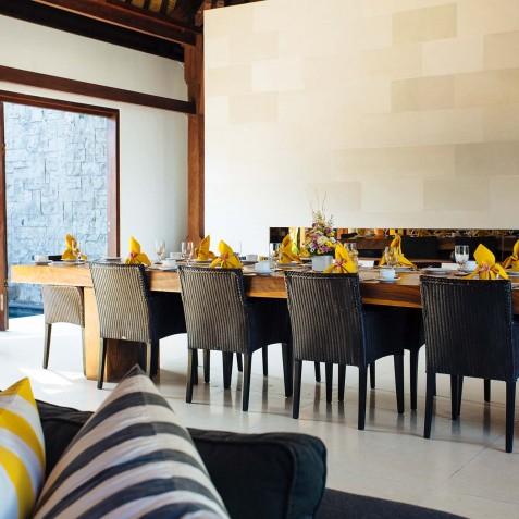 Villa Lilibel Bali - Indoor Dining Area - Seminyak, Bali