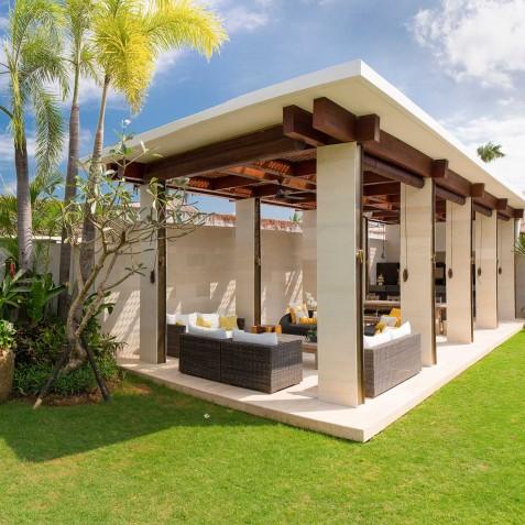Villa Lilibel Bali - Outdoor Living Area and Gardens - Seminyak, Bali
