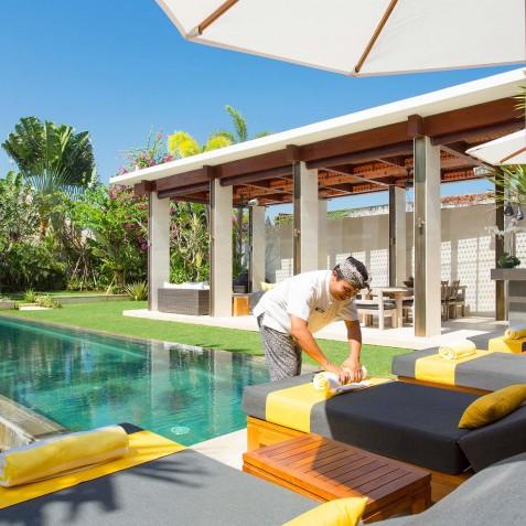 Villa Lilibel Bali - Poolside - Seminyak, Bali