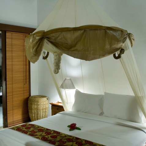 Villa Maharaj - Guest Bedroom Two & Ensuite - Seminyak, Bali