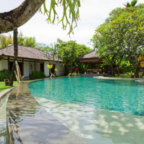 Villa Maharaj - Pool and Guest Bedrooms - Seminyak, Bali