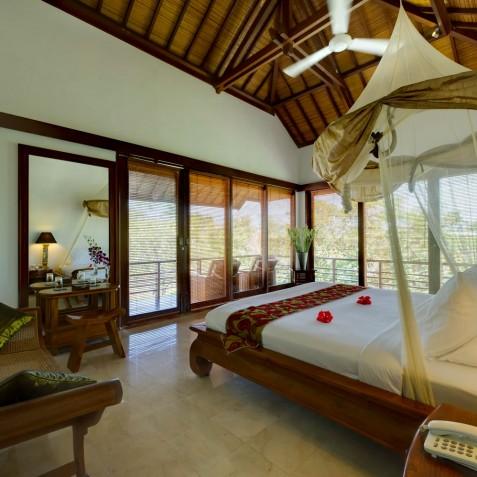 Villa Maharaj - Upstairs Bedroom - Seminyak, Bali