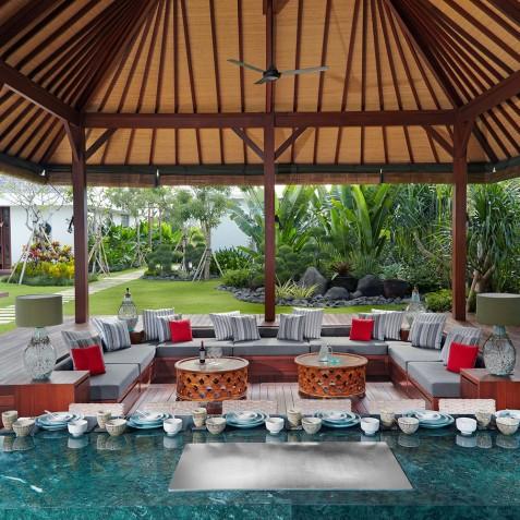 Villa Malaathina Bali - Teppanyaki Dining - Seminyak, Bali
