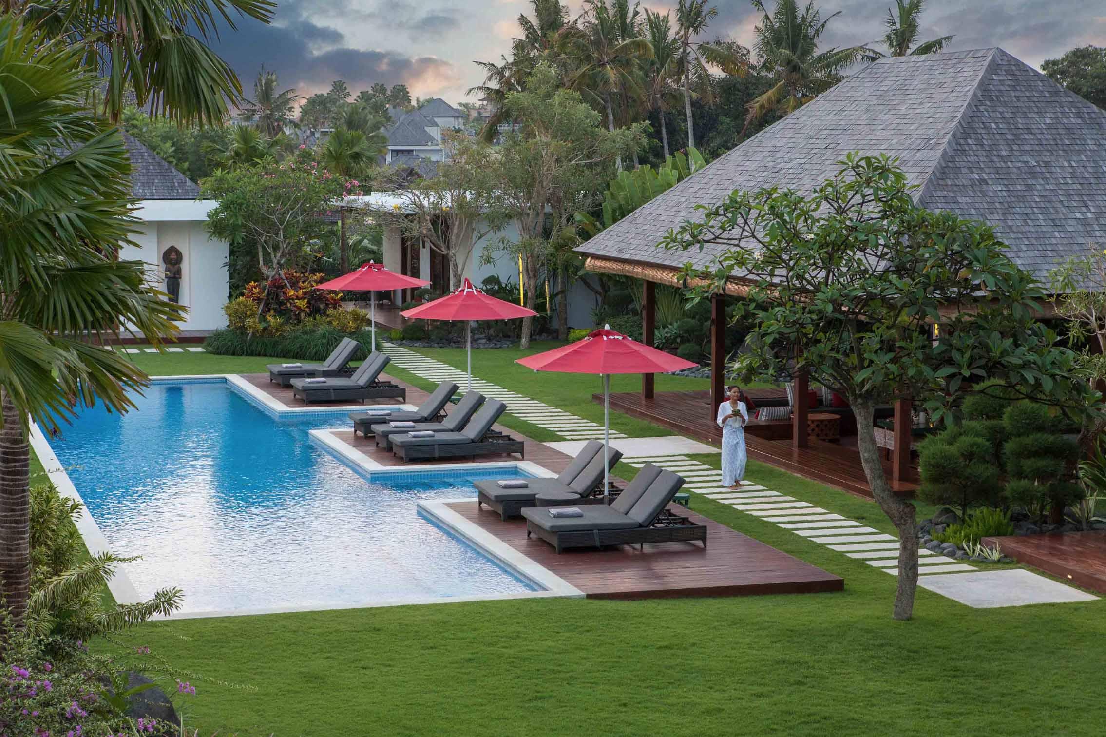 Villa Malaathina Bali - Early Morning - Umalas, Bali