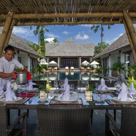Villa Mandalay Bali - Alfresco Dining - Seseh-Tanah Lot