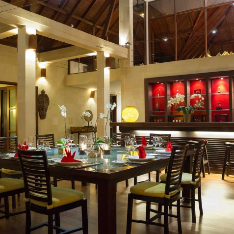 Villa Mandalay Bali - Dining and Bar Area - Seseh-Tanah Lot