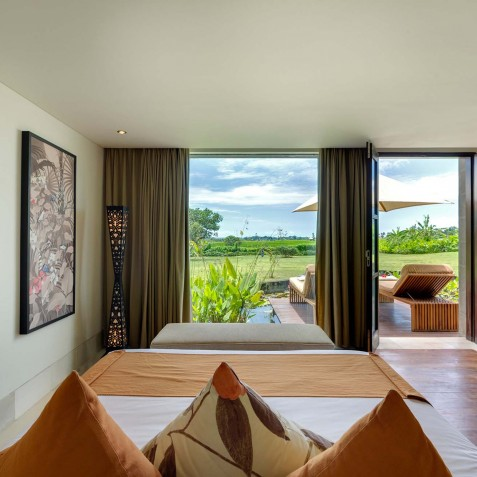 Villa Mandalay Bali - Downstairs Guest Bedroom - Seseh-Tanah Lot
