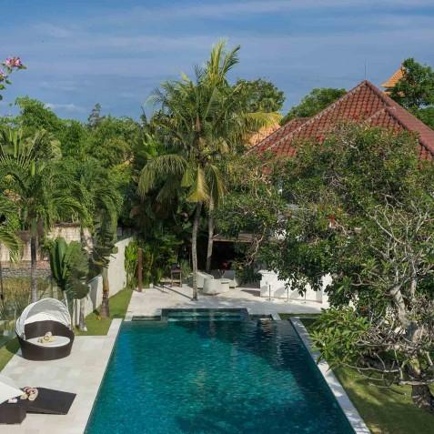 Villa Manis Bali - Master Bedroom View - Canggu, Bali