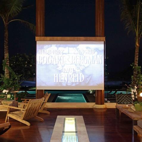 Villa Melissa Bali - Living Room Cinema - Pantai Lima, Canggu, Bali
