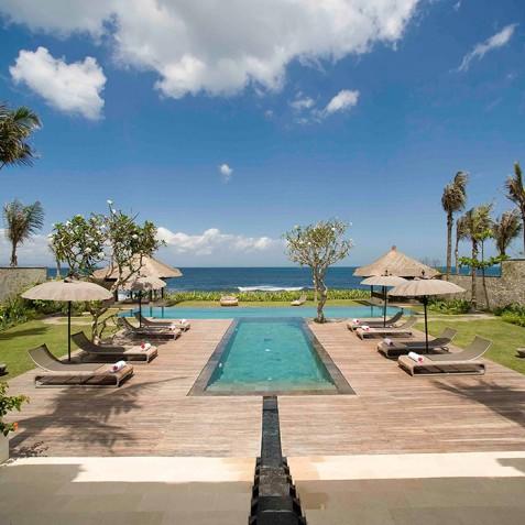 Villa Melissa Bali - View to Beach - Pantai Lima, Canggu, Bali