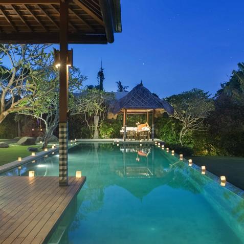 Villa Paloma Bali - View from Master Suite - Canggu, Bali