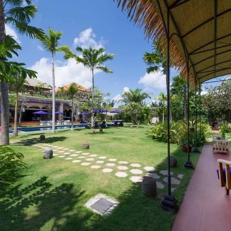 Villa Sayang d'Amour - Guest Wing Terrace - Seminyak, Bali