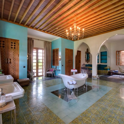 Villa Sayang d'Amour - Sensation Ensuite Bathroom - Seminyak, Bali