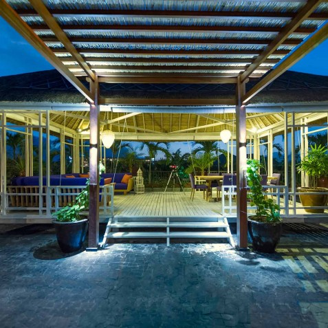 Villa Sayang d'Amour - Outdoor Lounge Pavilion - Seminyak, Bali