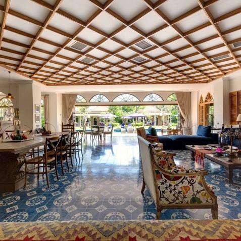 Villa Sayang d'Amour - Open Living & Dining Area - Seminyak, Bali