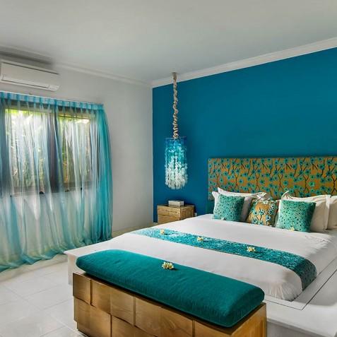 Villa Sea - 4S Villas - Guest Suite Bedroom - Seminyak, Bali