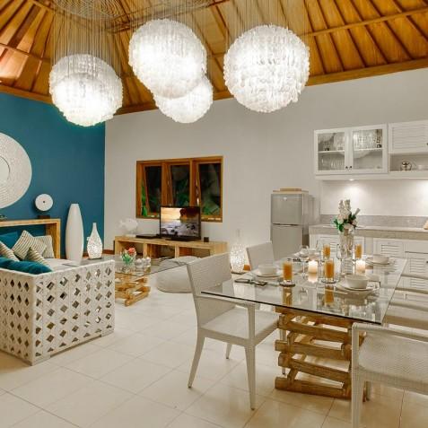 Villa Sea - 4S Villas - Open Plan Living - Seminyak, Bali