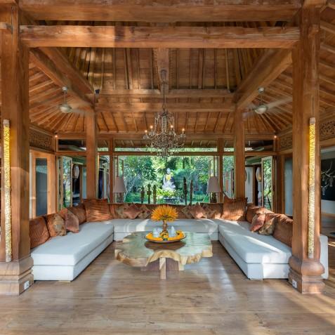 Villa Shambala - Living Area - Seminyak, Bali