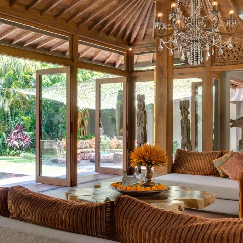 Villa Shambala - Living Room - Seminyak, Bali