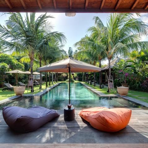 Villa Shambala - Pool Loungers - Seminyak, Bali