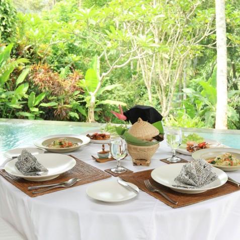 Villa Shamballa Moon, Ubud, Bali - Alfresco Dining