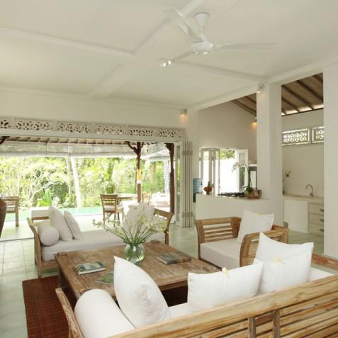 Villa Shamballa Moon, Ubud, Bali - Living Area