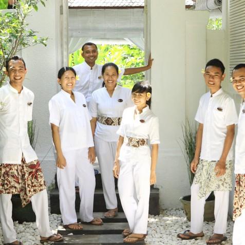 Villa Shamballa Moon, Ubud, Bali - Staff