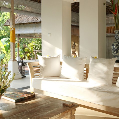 Villa Shamballa Residence, Ubud, Bali - Living Area