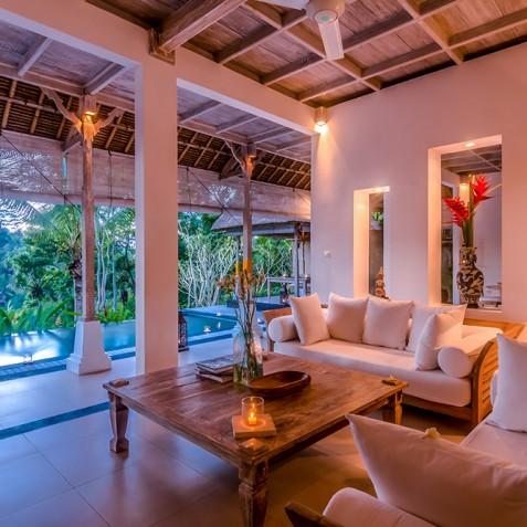 Villa Shamballa Residence, Ubud, Bali - Lounge