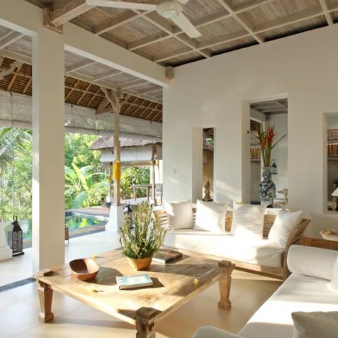Villa Shamballa Residence, Ubud, Bali - Main Living Area
